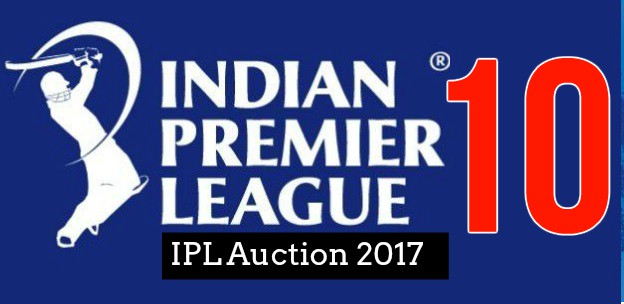 IPL Auction 2017 Real-Time Live Updates and participating teams: 351 players to go under the hammer on February 20, 2017